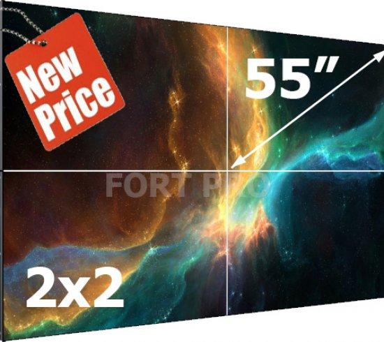 """Видеостена LCD FP-2x2 55"""" диагональ - 0"""