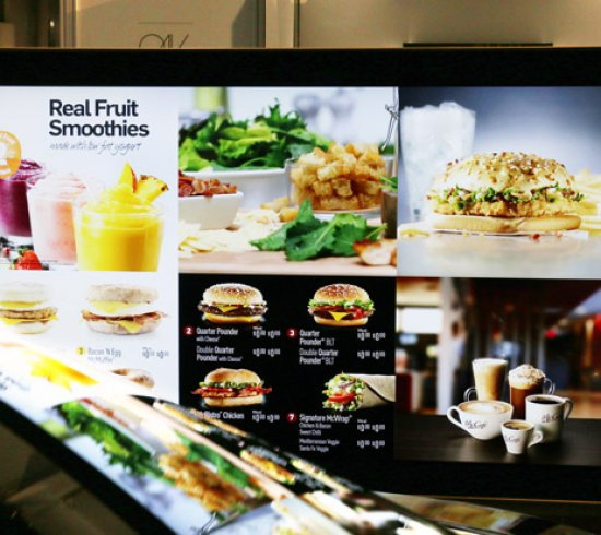 Digital menu board - 0